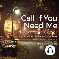 Call If You Need Me