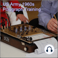 US Army 1960s Polygraph Training