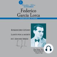 Romancero Gitano: Poemas recitados por Margarita Xirgu