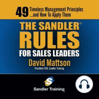 The Sandler Rules