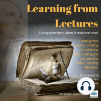 Learning from Lectures