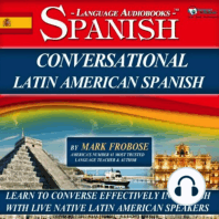 Conversational Latin American Spanish
