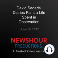 David Sedaris' Diaries Paint a Life Spent in Observation