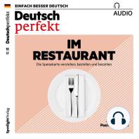 Deutsch lernen Audio - Im Restaurant