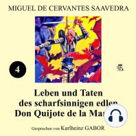 Leben und Taten des scharfsinnigen edlen Don Quijote de la Mancha (Buch 4)