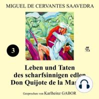 Leben und Taten des scharfsinnigen edlen Don Quijote de la Mancha (Buch 3)