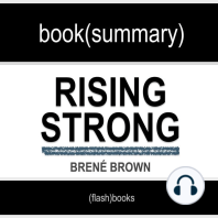 Book Summary of Rising Strong by Brené Brown