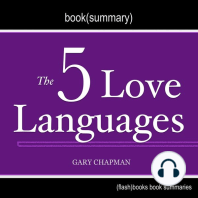 Book Summary of The 5 Love Languages by Gary Chapman