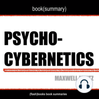 Book Summary of Psycho Cybernetics by Maxwell Maltz