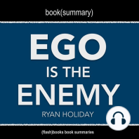 Book Summary of Ego Is The Enemy by Ryan Holiday