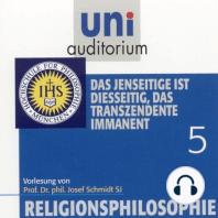 Religionsphilosophie (5)