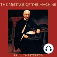 The Mistake of the Machine