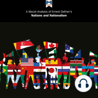 A Macat Analysis of Ernest Gellner's Nations and Nationalism