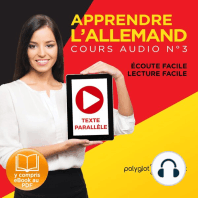 Apprendre l'Allemand - Écoute Facile - Lecture Facile - Texte Paralléle Cours Audio, No. 3 [Learn German - Easy Listening - Easy Reader - Parallel Text Audio Course, No. 3]
