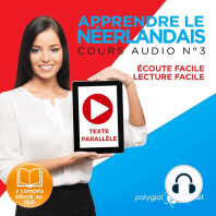 Apprendre le Néerlandais - Écoute Facile - Lecture Facile - Texte Parallèle Cours Audio No. 3 [Learn Dutch]