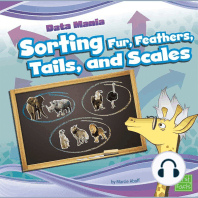 Sorting Fur, Feathers, Tails, and Scales