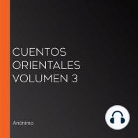 Cuentos Orientales Volumen 3*