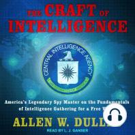 The Craft of Intelligence