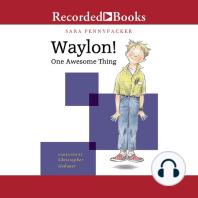 Waylon! One Awesome Thing