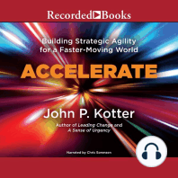 Accelerate: Building Stategic Agility for a Faster-Moving World