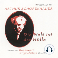 Im Gespräch mit Arthur Schopenhauer