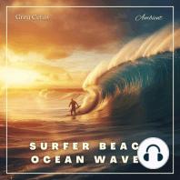 Surfer Beach Ocean Waves