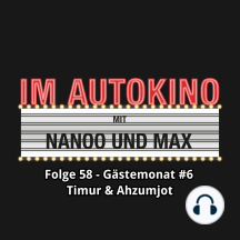 Im Autokino, Folge 58: Gästemonat #6 Timur & Ahzumjot