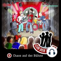 Chaos auf der Bühne