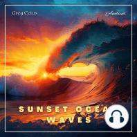 Sunset Ocean Waves