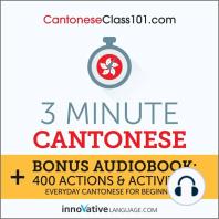 3-Minute Cantonese