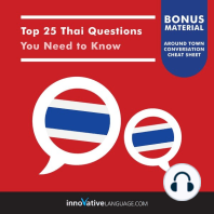 Top 25 Thai Questions You Need to Know