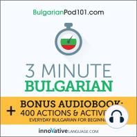 3-Minute Bulgarian