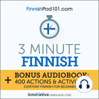 3-Minute Finnish