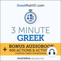 3-Minute Greek
