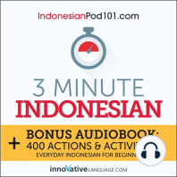 3-Minute Indonesian