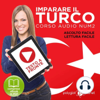 Imparare il Turco - Lettura Facile - Ascolto Facile - Testo a Fronte
