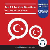 Top 25 Turkish Questions You Need to Know