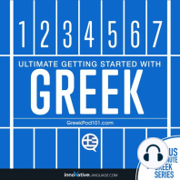 Learn Greek - Ultimate Getting Started with Greek