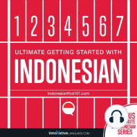 Learn Indonesian - Ultimate Getting Started with Indonesian