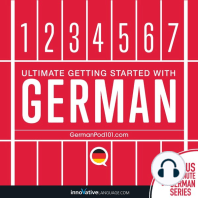 Learn German - Ultimate Getting Started with German