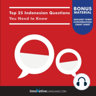 Top 25 Indonesian Questions You Need to Know