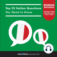 Top 25 Italian Questions You Need to Know