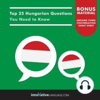 Top 25 Hungarian Questions You Need to Know