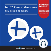 Top 25 Finnish Questions You Need to Know