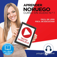 Aprender Noruego - Fácil de Leer - Fácil de Escuchar - Texto Paralelo Curso en Audio, No. 1 [Learn Norwegian - Easy Reading - Easy Audio - Parallel Text Audio Course, No. 1]