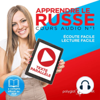 Apprendre le Russe - Écoute Facile - Lecture Facile - Texte Parallèle Cours Audio No. 1 [Learn Russian - Audio Course No. 1]