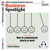 Business-Englisch lernen Audio - Strategisch handeln: Business Spotlight Audio 05/17 - Acting strategically