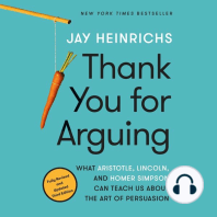 Thank You for Arguing, Third Edition