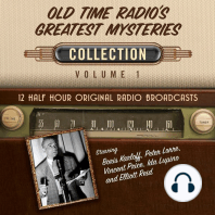 Old Time Radio's Greatest Mysteries, Collection 1