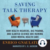 Saving Talk Therapy
